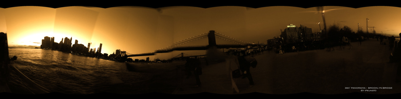 ipeung110:  [040812] 360˚ PANORAMA -  BROOKLYN BRIDGE