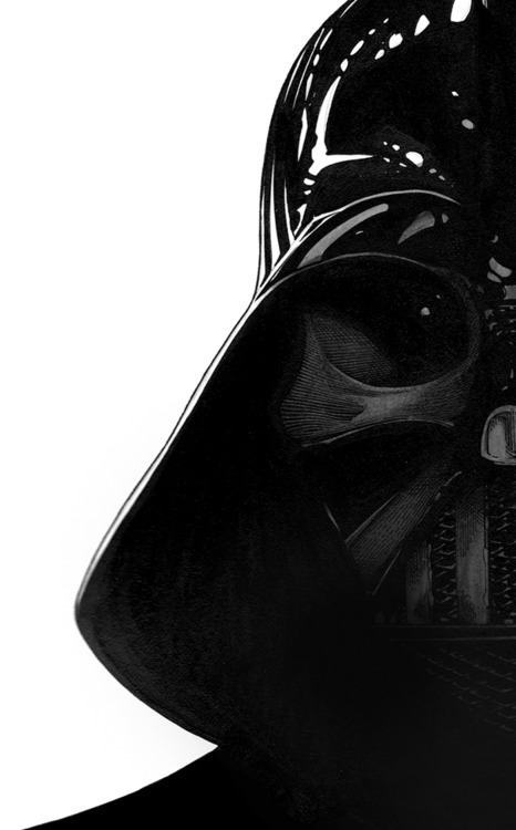 darthvaderjournal:  I wear a mask. Ladies love the mask. Darth Vader