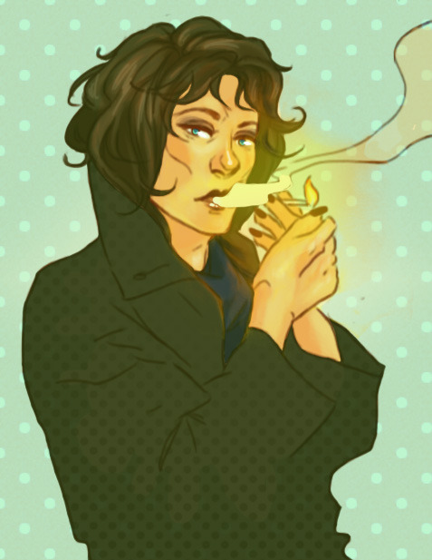 -psyche-:  Female Sherlock :3