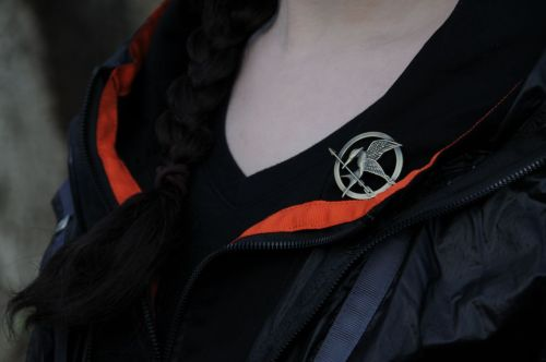 moonflowerlights:  grabbed a few test shots for my arena katniss cosplay, so here's a teaser  So cool!