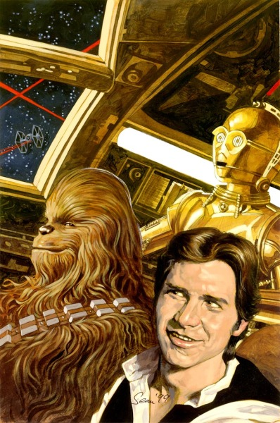 I'm loving Chewie's face in this. Priceless.