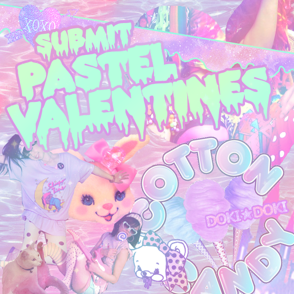 pastelvalentines:  Pastel Valentines is meant to be a place where people can show their love for others anonymously in the form of pictures.It's for lovers of Spank!, Fairy kei, Pop kei, Decora and various other pastel and colourful styles or things related. Have a crush on somebody? Like somebodies dress? Here you can open your heart and just say it out loud ♥  Valentines will be posted at least once a week on Sundays. In the future possibly on another fixed day as well ♥ We're eagerly awaiting your submissions and valentines! Please submit so this place stays alive ♥  Thank you for 400 followers! Hopefully we can continue to spread  the love of pastel with your help!So please continue to support us and each other~♥