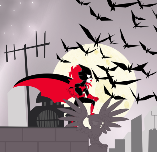 Super Best Friends Forever Batwoman by *PixelKitties