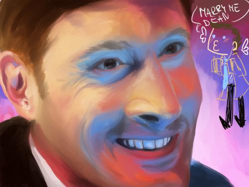 greatns:  From tonights livestream. Still not finished. Jensen Ackles.