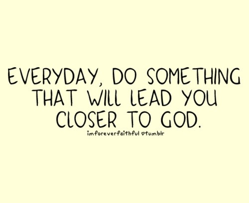 "spiritualinspiration:  ""Come close to God, and God will come close to you…"" (James 4:8, NLT) Have a Blessed Evening Everyone!! -Naeem www.facebook.com/naeemcallaway"