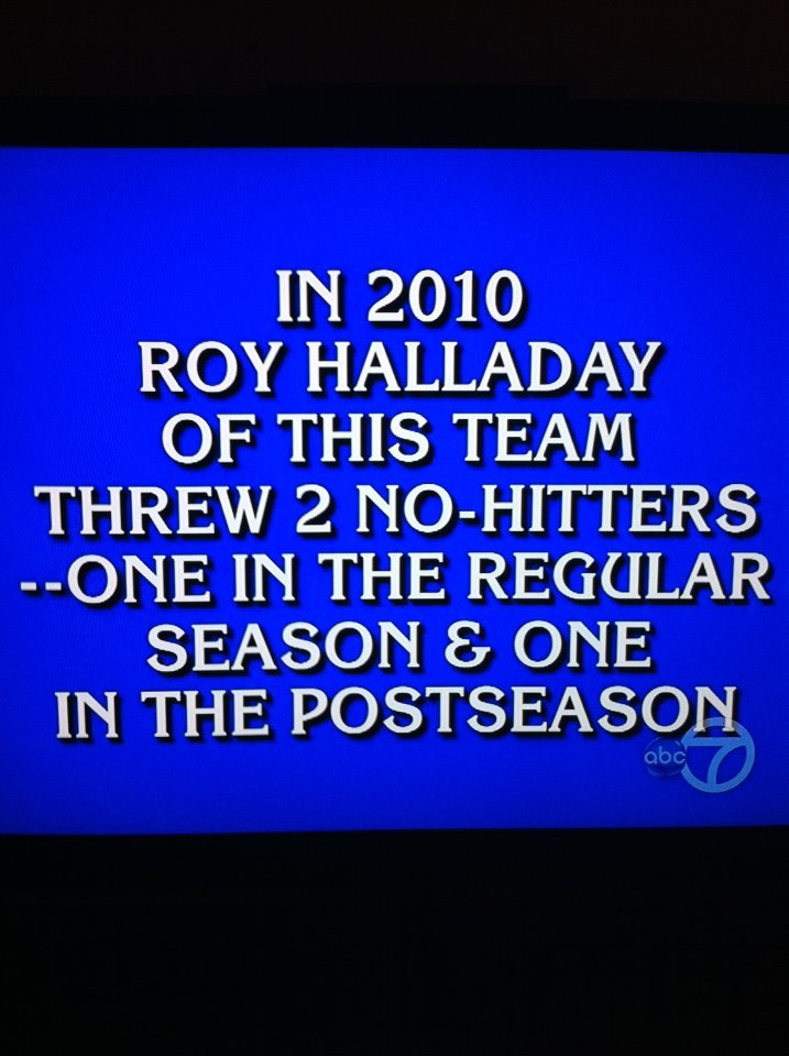 Damn it. The answer is on the tip of my tongue.  philadelphiaphillies:  This was on Jeopardy tonight!