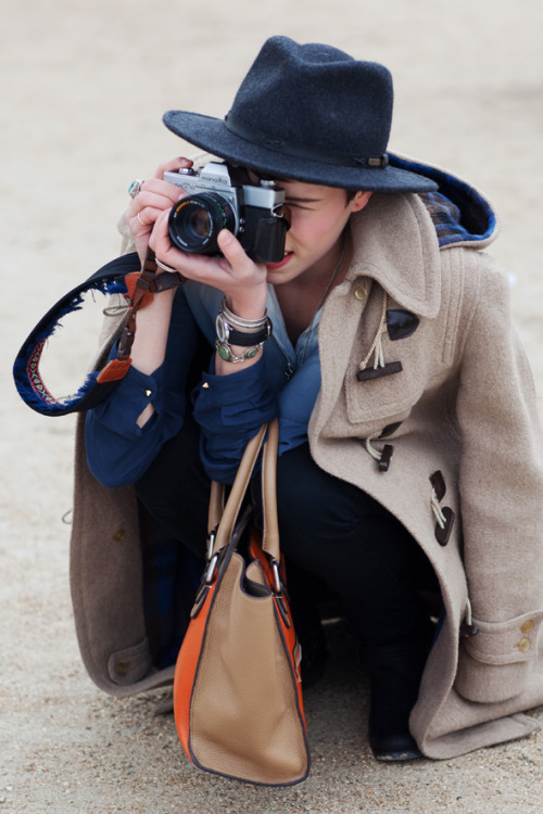 coats + cameras = love source: the sartoralist