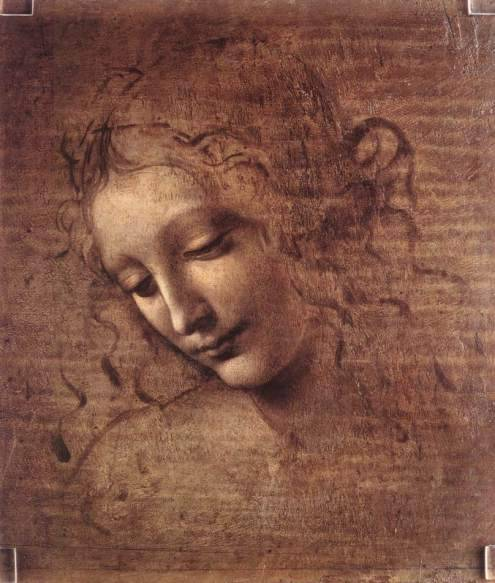 La Scapigliata by Leonardo da Vinci (via A Little Lift From Leonardo « museworthy)