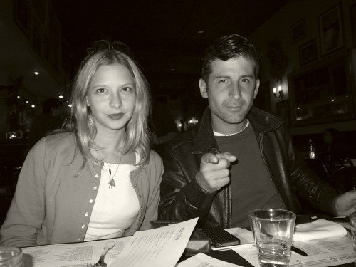 Annabelle Dexter-Jones and soul mate Andre Saraiva at our pop culture dinner convention at La Poubelle this weekend.  Photo by Brad Elterman