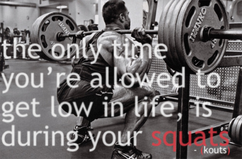squat below 90!