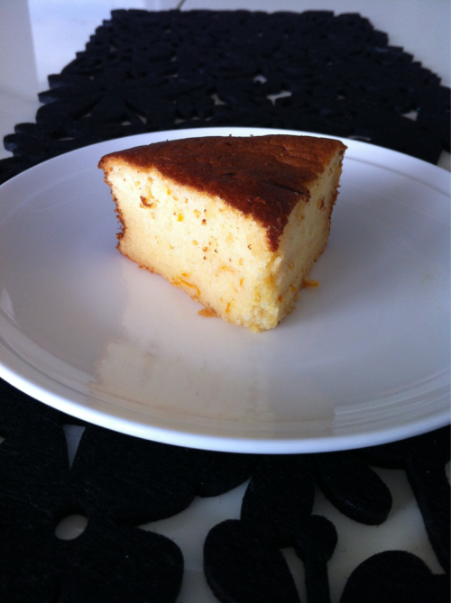 Orange and Honey Chiffon Cake.  Still. Not. Quite. Right.  Arghh! The biggest problem is… I don't know what I want….