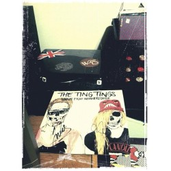 Got this two weeks ago at the Portland show. @thetingsfan @thetingtingsyeah @thetings #thetingtings  (Taken with instagram)
