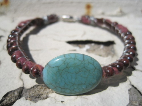 weareeightone:  Handmade Boho style bracelet! www.eight—one.com