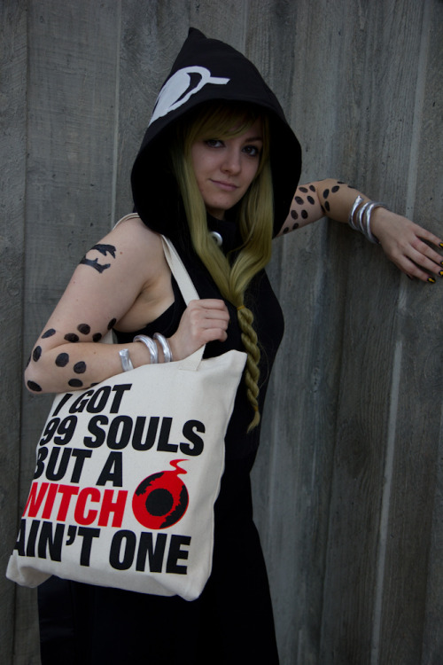 Amazing cosplay by BAT. Tote bag by superOrange