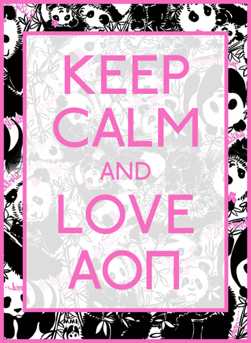 allsororities:  AOII <3