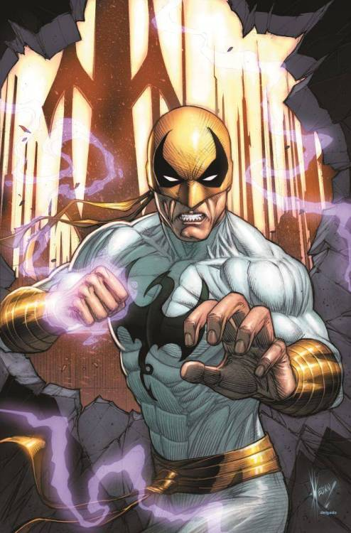artverso:  Dale Keown - Iron Fist