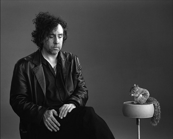 Tim Burton photographed by Mary Ellen Mark