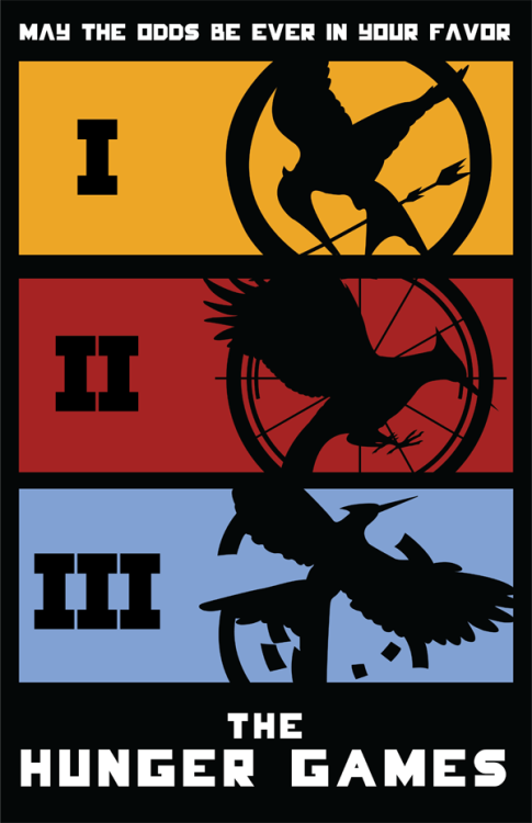 The Hunger Games by designbynickmorrison