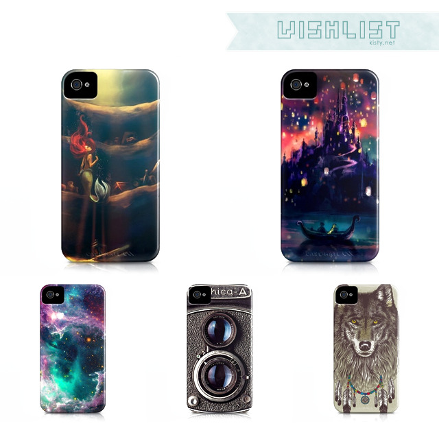 The Style Mermaid by Kisty Mea • When the iPhone 4 was released, I was furious. I was furious mostly because of the pretty iPhone cases that came along. I wouldn't feel that bad if they offered those pretty cases for 3GS but they didn't. I just want to share to you some of the many (I swear, there are lots!) iPhone cases that I like. They're actually available for 3G and 3GS model but I really don't see the point of buying now when I know I'll be getting a new iPhone in the near future. Posting for future reference.