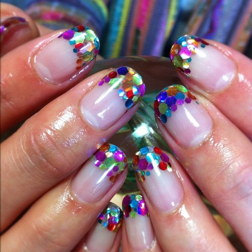 honeyxxxblade:  ✨✨sparkle✨✨ #nail #art #ネイル (Instagramで撮影)