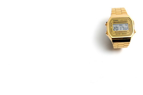 Gold Casio