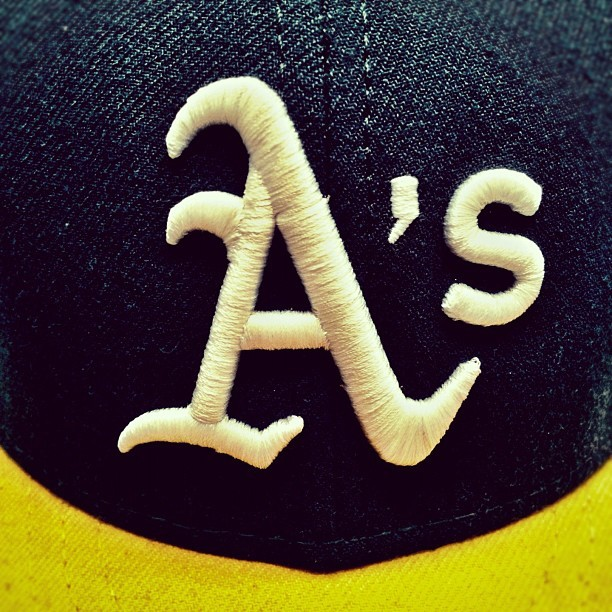 OAKLAND WHAT #mlb #baseball #oakland #athletics #a's  (Taken with instagram)