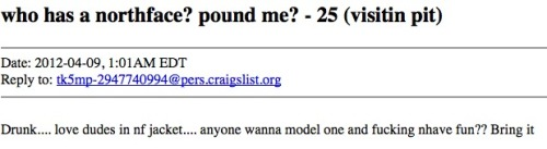 This is the most ridiculous CL ad I've ever read.