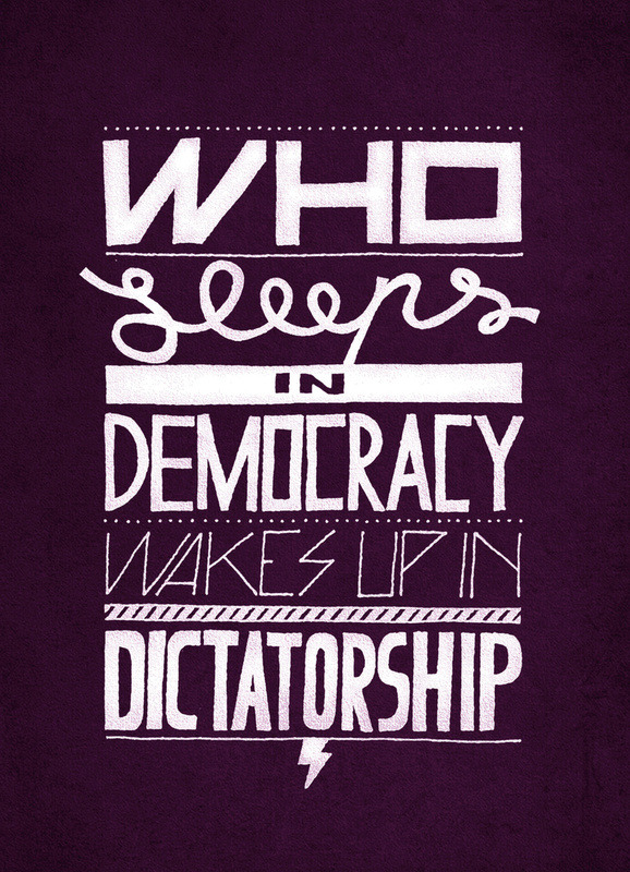 americandissident:  Who Sleeps in Democracy…