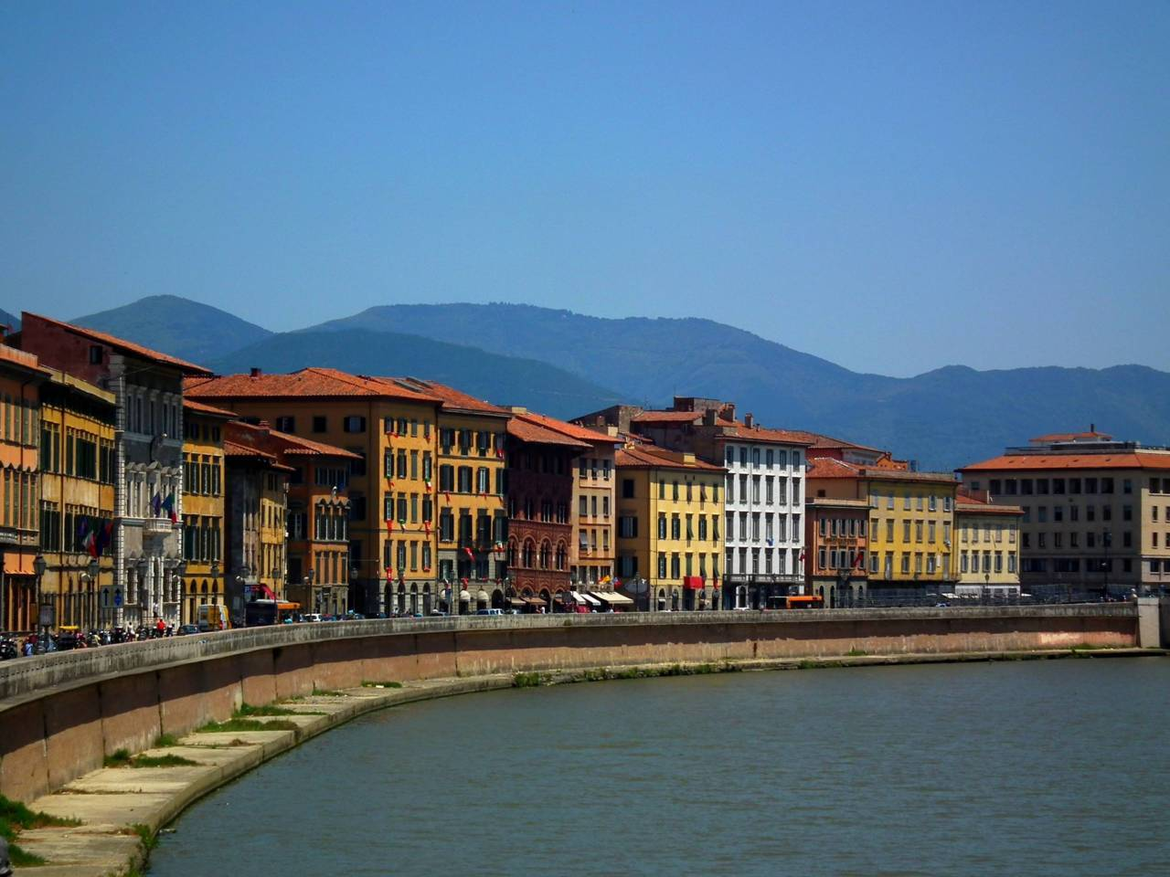 PISA BY THE WATER | coordinates: 43°43′N 10°24′E