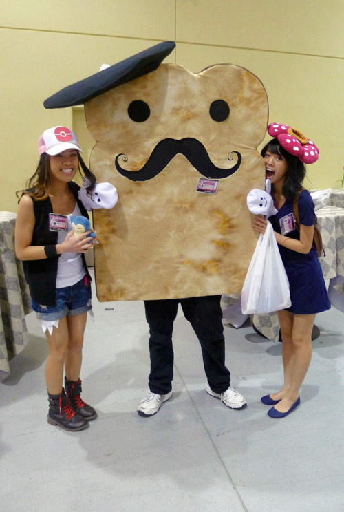 Mr. French Bread hahah I was vileplume on day 2 :)