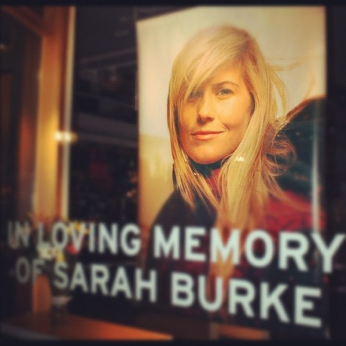 wish i could have been in whistler today. ski in peace Sarah.