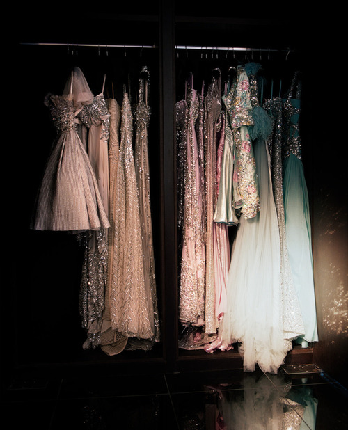 If only I had this amount of dresses to choose from for prom…