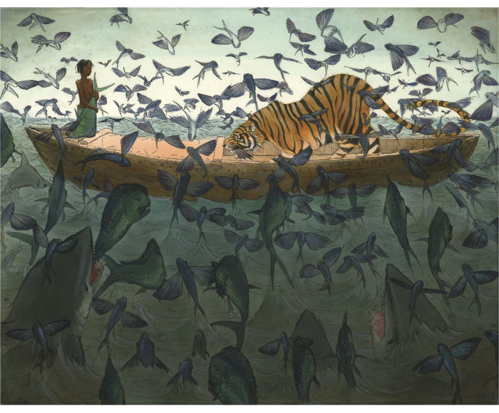 ctenopho:  By Andrea Offermann  Life of Pi