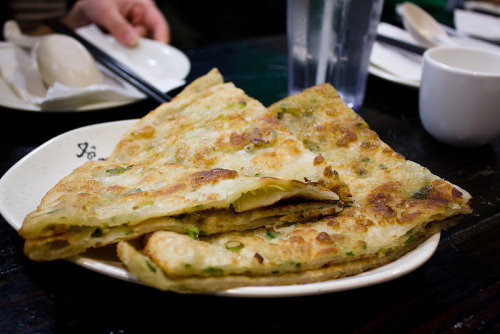 onion pancakes from liang's kitchen, san diego