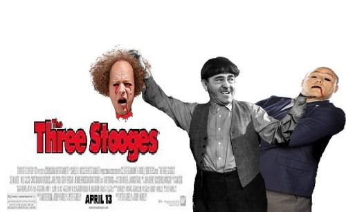 What most fans will be thinking. Come this Friday, when THE THREE STOOGES arrives in theaters.