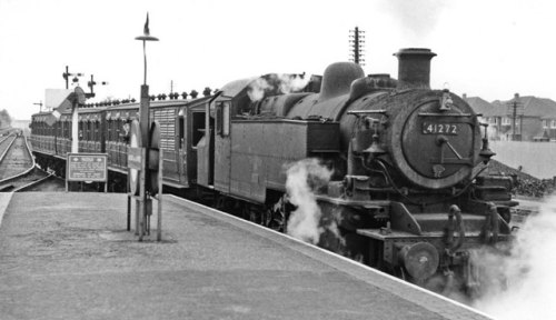 Auto-train for Chesham leaving Chalfont & Latimer Station © Copyright Ben Brooksbank and licensed for reuse under this Creative Commons Licence.