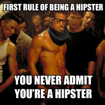 Fight Club Hipster