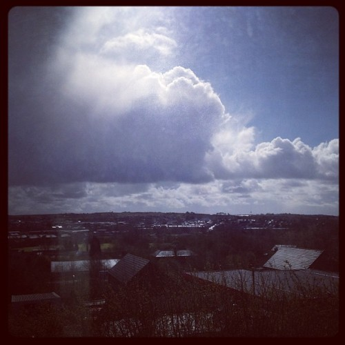 Rain making an appearance. #horribleweather  (Taken with instagram)