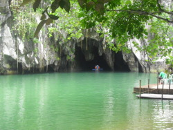 Puerto Princesa Underground River, Philippines. submitted by: thepassiontotravel thanks!