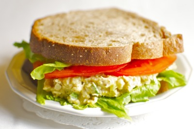 Vegan Tuna Salad     (click image for recipe)