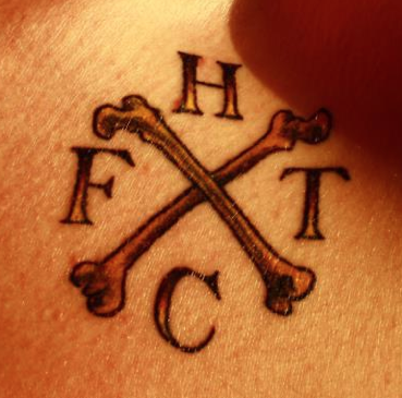 Nice, loads of people are getting the FT logo I designed tattooed, mentalists!