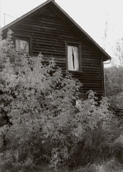 The Fox Sister's Homestead, Hydesville, NY (c. 1985) The site of the birthplace of Spiritualism…this building no longer exists, and I'm glad I got the photos when I did. One photo from that day is the book cover of my novel Dusty Waters: A Ghost Story