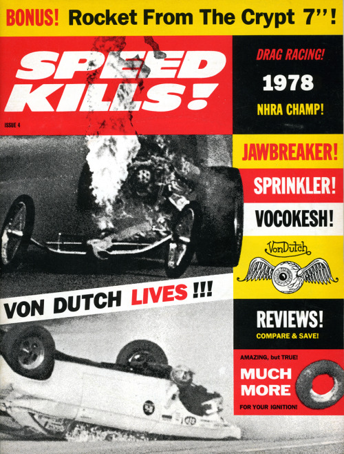 Speed Kills, Spring 1993Cover design: Art Chantry