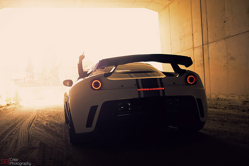 automotivated:  Rockstar (by SBCriss95)  That finger says everything