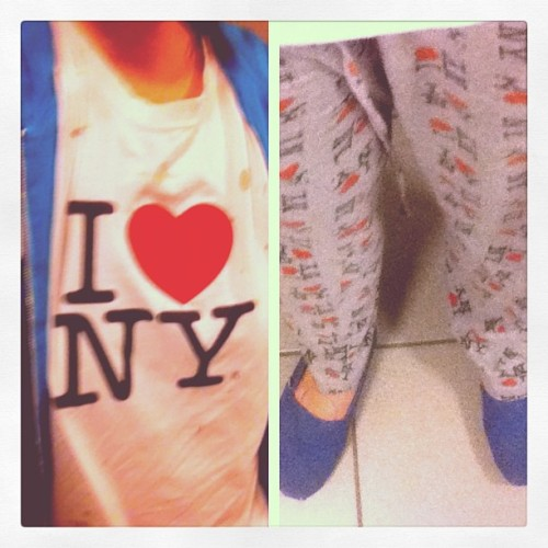 #hot (laundry doing) #outfit. #fashion #newyork #nyc (Taken with instagram)