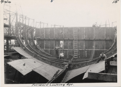 Sumner Ferry Construction, 14 August 1930, Item 5-15, Bridge and Ferry Photographs, ca. 1926-1947, (Collection # 5010.004)  Creative Commons License