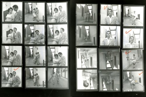 Contact sheets from LIFE photographer Peter Stackpole's shoot on a Paramount lot with Elizabeth Taylor and Montgomery Clift in 1950.       inShare10 Share on Tum
