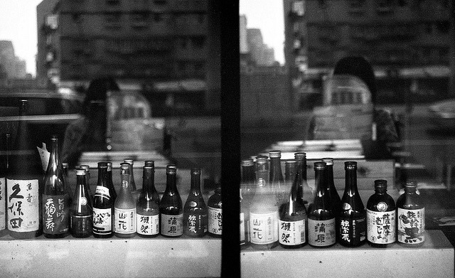 The window of a small restaurant, what's your choice? on Flickr.Canon Demi S, PolypanF 50@200