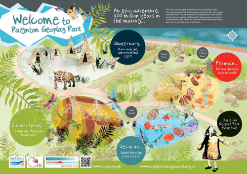 A new addition to my portfolio. Illustrated interpretation boards for a children's play park in Paignton, Devon. See more here