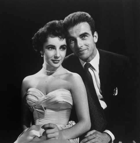 Unpublished. Elizabeth Taylor and Montgomery Clift, Hollywood, 1950.